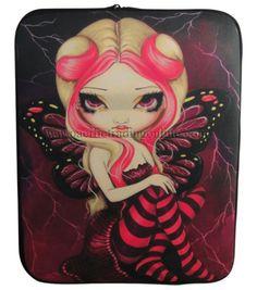 Pink Lightning Strangeling iPad Cover Jasmine Becket Griffith iPad Sleeve Cover