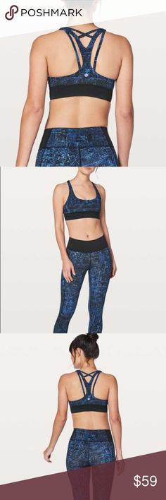6be5552860 Lululemon Keep Your Form Bra in City Lights NWT Medium support for B C cup