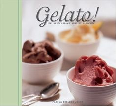The perfect treat for a hot summer day, homemade gelato and its fruit-based cousins, sorbetti and granite, are easy to make and richer than ordinary ice creams and sherbets, yet less fattening. Italian Gelato Recipe, Italian Recipes, Italian Menu, Italian Cooking, Frozen Desserts, Frozen Treats, Cold Desserts, How To Make Gelato, Pistachio Gelato