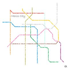 15 Best Cities Subway maps as Art images