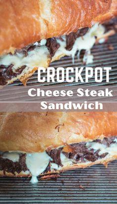 Roast Beef Dinner, Slow Cooker Roast Beef, Beef Recipes For Dinner, Roast Beef Meals, Crockpot Beef Roast Recipes, Cooker Recipes, Chuck Roast Recipes, Cheesesteak Recipe, Roast Beef Sandwiches