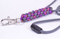 Make a Round Crown Sinnet Neck Lanyard with Break Away Buckle - BoredParaocrd