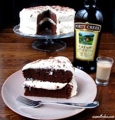 Chocolate Stout Cake with Forty Creek Cream Icing More