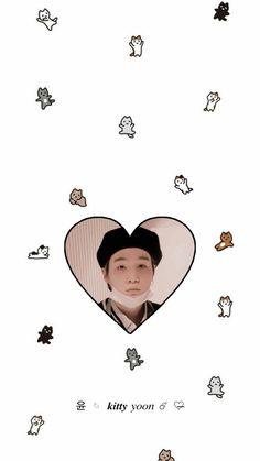 Bts Wallpapers, Bts Backgrounds, Cute Cartoon Wallpapers, Min Yoongi Bts, Min Suga, Min Yoongi Wallpaper, Soft Wallpaper, Bts Korea, Bts Lockscreen