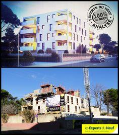 #immobilier #architecture #urbanisme #Montpellier EXPERTS DU NEUF a fait des visites hier et vous montre l'actualité des chantiers… Résidence #LEMON de NG Promotion