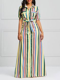 111 buy ruffled dresses midi dresses for women from fantasyou at stylewe online shopping stylewe sundress ruffled dresses daily a line ruffled bell sleeve color block casual dresses 16 Long African Dresses, African Fashion Dresses, Dress Outfits, Casual Dresses, Fashion Outfits, Maxi Dresses, Women's Fashion, Classy Dress, Mode Style