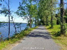Lower Ottawa R. - Park Trail - Ontario Bike Trails Park Trails, Bike Trails, Ottawa River, Road Routes, Nordic Skiing, Bike Path, Island Beach, Pavement, Mountain Biking