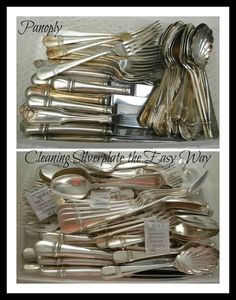 Panoply: Cleaning Silverplate the Easy Way