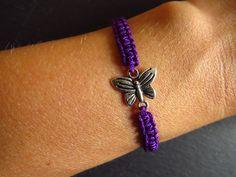 http://de.dawanda.com/product/46275098-Flechtarmband-Schmetterling-lila