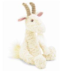 Jellycat Furryosity Goat Stuffed Animal