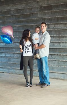 Sorry I'm late but we are having a….Great way to announce your pregnant or the gender!