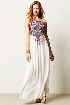 Mahina Maxi Dress #anthropologie