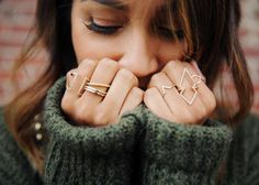 The perfect stacking rings http://rstyle.me/n/weshn4ni6