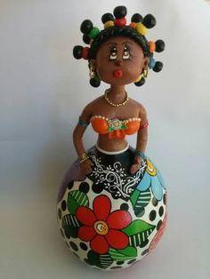 Resultado de imagen para boneca de cabaça