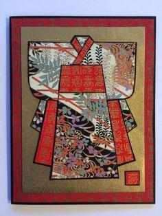Kimono handmade by Rosanne Stead.