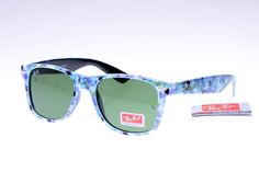 Ray-Ban Wayfarer 2140 Colorful Pattern Black Frame Green Lens RB1097 [RB-1105] - $14.80 : Cheap Sunglasses,Cheap Sunglasses On sale