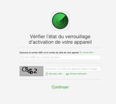 Un outil Apple pour vérifier qu'un iPhone n'est pas volé - AppSystem