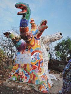 Laboratoire Urbanisme Insurrectionnel: Niki de Saint Phalle, Giardino dei Tarocchi