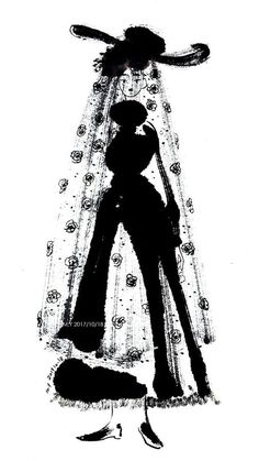 """""""Ink Ladies Inspire by the Dior exposition in Paris"""" Female Character Design, Character Art, Barbie Fashion Sketches, Art Sketchbook, Love Art, Pixel Art, Art Reference, Illustration Art, Drawings"""