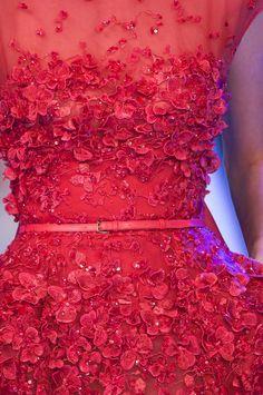 Elie Saab haute couture Spring 2014 PFW via chiffon et ribbons (details) xxxlafemmina
