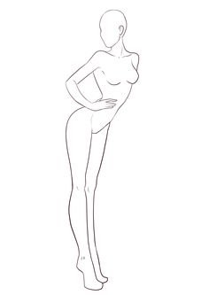 free croquis female - Google Search