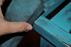 Morgan Kervin Photography: Distressing furniture photoprops