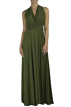 VonVonni Women's Transformer Dress, Long One Size Fits Al...