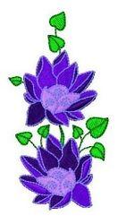 Swirly Flowers 2 - 4x4 | What's New | Machine Embroidery Designs | SWAKembroidery.com Fun Stitch