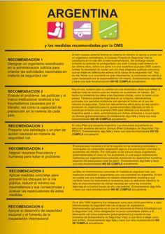"""Recomendaciones de la OMS para la Argentina sobre Seguridad Vial """"http://es.calameo.com/read/000004809ef688e5f1119"""""""