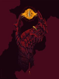 The hand of Sauron by Justin Erickson