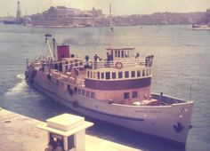 Imperial Eagle made its maiden voyage between Malta & Gozo on 1st June 1958, it had accommodation for 70 passengers and room for 10 cars. It remained on the Mgarr to Marfa route until March 1968. She also did occasional trips to Sicily and on these was held locally in ill-repute as a bad sailer.  Imperial Eagle was subsequently bought by Sunny & Mary Pisani from Gozo and was used to transport cargo and animals from Gozo to Valletta.