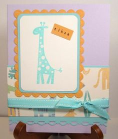 For Baby Ethan by NanaDiana - Cards and Paper Crafts at Splitcoaststampers Nursery Patterns, Baby Images, Petunias, Paper Size, Pattern Paper, Stampin Up, Paper Crafts, Cool Stuff