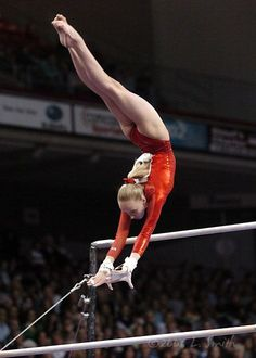 Nastia Liukin women's gymnastics uneven parallel bars 2020-11-22