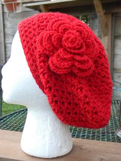 Beret by Yarniwa by yarniwa on Etsy, $24.00