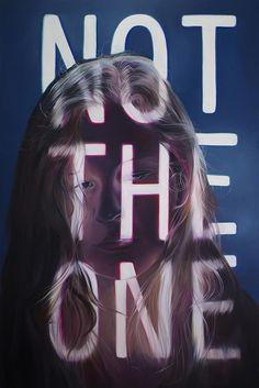 """Jenn Mann Q&A Not The One 60""""x90"""" / oil on canvas 2014"""