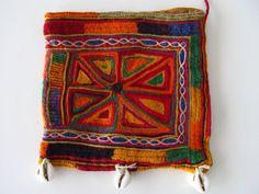 Banjara embroidery, vintage textile, exquisite dowry bag, Rajasthan, India