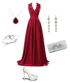 """Untitled #2"" by munevera-berbic ❤ liked on Polyvore featuring R&J, Qupid and Kevin Jewelers"
