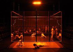 Faust. Theater Freiburg. Set design by Wolf Gutjahr. 2012