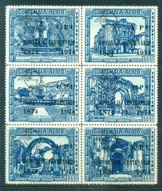 Guatemala 1974 Centenary of UPU Blk 6 MUH lot76366
