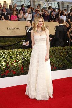Kirsten Dunst in Dior at 2017 Screen Actors Guild Awards