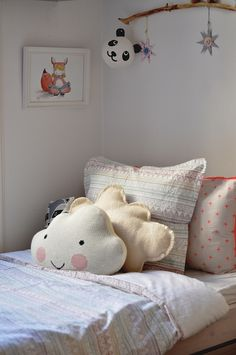 R's room//Garbo&Friends by Paul+Paula, kids room / cute pillows
