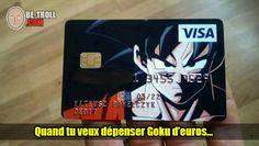Quand tu veux dépenser Goku d'argent... - Be-troll - vidéos humour, actualité insolite