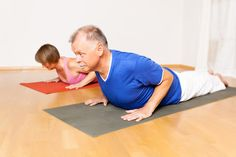 Several senior fitness classes ranging from chair yoga to senior fit are available at the Civic Center.