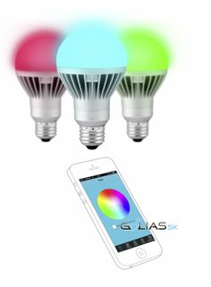Techlight LED RGB lampa E27 7W (60W) Bluetooth