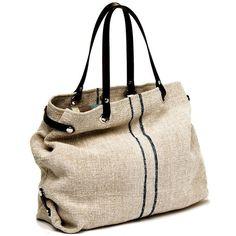 Tamara Fogle Vintage Hungarian Linen Bag (€145) found on Polyvore