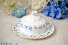 Royal Albert Memory Lane Butter Dish English by TheTeacupAttic
