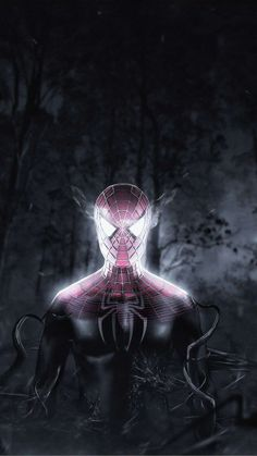 Spiderman Inside Venom Mobile Wallpaper (iPhone, Android, Samsung, Pixel, Xiaomi) - Best of Wallpapers for Andriod and ios Iron Man Wallpaper, Marvel Wallpaper, Best Iphone Wallpapers, Movie Wallpapers, Iphone Mobile Wallpaper, Hd Wallpaper, Captain America Art, Black Spiderman, Black And White Wallpaper