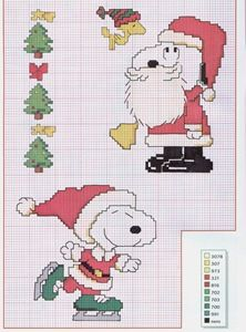 Snoopy Charlie Brown and the Christmas - free cross stitch patterns crochet knitting amigurumi Cross Stitch Charts, Counted Cross Stitch Patterns, Cross Stitch Designs, Cross Stitch Embroidery, Snoopy Christmas, Christmas Cross, Christmas Holidays, Christmas Cartoon Characters, Stitch Cartoon