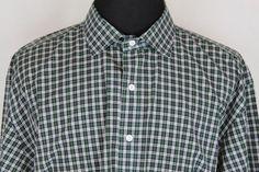 RALPH LAUREN Regent Men's Classic Fit Long Sleeve Shirt sz 3XLT Green Plaid #RalphLauren #ButtonFront