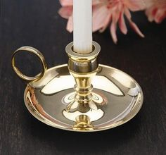 Biedermann  Sons Brass Chamberstick Candle Holder 2 ** More info could be found at the image url.Note:It is affiliate link to Amazon.